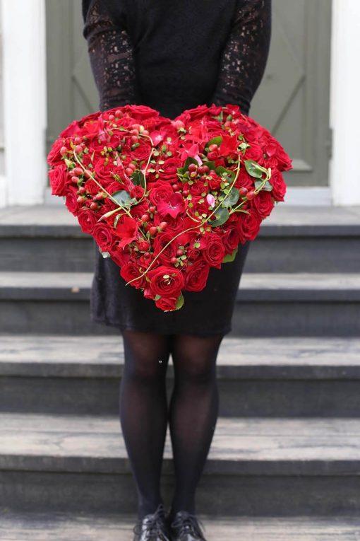 Punainen sydän surulaite