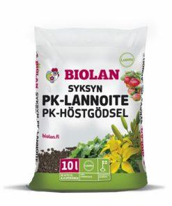 Biolan Syksyn PK-lannoite 10L