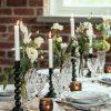 Kukat & pikkumaljakot valkoinen